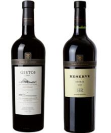 Finca Flichman Shiraz Reserve & Gestos Cabernet Sauvignon – ny årgång, exceptionella 2010!