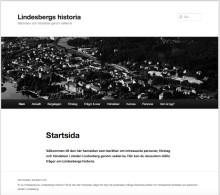 Ny webbplats om Lindesbergs historia