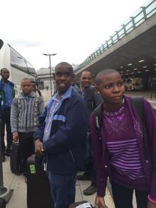 Unga med utvecklingsstörning från Östafrika på unikt besök i Sverige