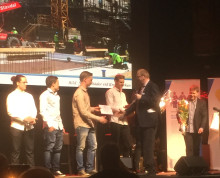Sebastian från ByggDialog blev Årets bygglärling