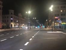 Vi skapar möjligheter för effektfull belysning på Drottninggatan och Järnvägsgatan
