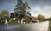 Veidekke och Arcona utför om- och tillbyggnad av Lindeparkens gymnasium i samverkan