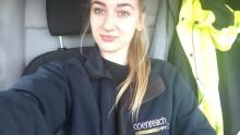 BT apprentice in Derbyshire inspires girls to pursue engineering dream