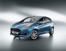 Nye Ford Fiesta med 7 drivlinjer under 100 g/km CO2; stilig ny modell og først i Europa med MyKey