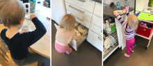 Mestring i måltidet for de yngste barna