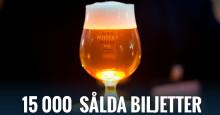 Redan 15.000 sålda biljetter till En Öl & Whiskymässa