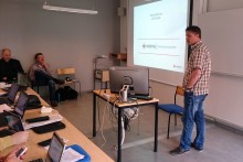 IT-PUB and Entrepreneurship workshop from Sigma in Växjö