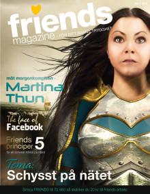 Nättema i nytt nummer av Friends Magazine