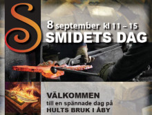Smidets dag på Hults Bruk i Åby