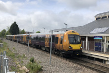 Successful test run of the first Class 172/0 via Kenilworth