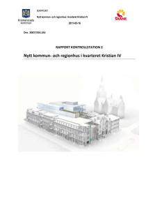 Nytt kommun- och regionhus rapport
