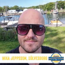 Mika Jeppsson från Sölvesborg vann Imagine & Gunn med bourbonfatslagrad stout smaksatt med jalapeño
