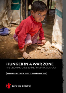 Hunger in a War Zone