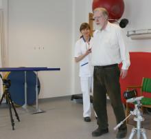 Nytt gångtest ska underlätta tidig upptäckt av demens