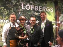 Löfbergs får pris for bærekraftsarbeidet sitt