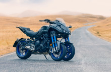Yamaha Motor Exhibits NIKEN Sport LMW at EICMA - The next LMW with twin front wheels following the TRICITY 125/155 -