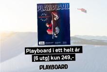 Samarbeidet med Playboard endres