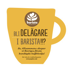 Aktiesläpp idag: Barista blir Skandinaviens första kundägda kaffekedja