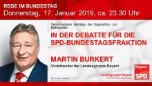 Martin Burkert in der Bundestagsdebatte