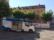 Beratungsmobil der Unabhängigen Patientenberatung kommt am 15. Juni nach Augsburg.