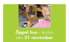 Öppet hus på Move & Walk Skola den 21 november