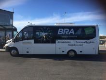 EkmanBuss Flexibussitet satsar på framtidens hållbara flygbusslinje med destination Bromma flygplats