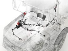 Volvo brandsläckningssystem för dumprar