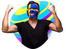 Sverige stod stilla under matchen mot Tyskland - 100 procent trafikökning i Telias nät