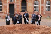 Die Alte Abtei öffnet sich: Spatenstich für das Standortentwicklungsprojekt Mettlach 2.0