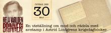 """Många röster i """"Hela världen brinner!"""": Astrid Lindgren inspirerar till berättelser om kriget"""