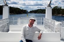 """Resenärsrekord på """"Vaxholmspendeln"""" -nu blir det fler turer under hösten"""