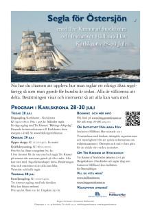 Program för Tre Kronor i Karlskrona 2015