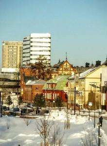 Januarirekord för övernattningar i Umeå
