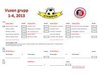 Vuxenklass Grupper 1-4 (av 8) Glada Hudik Straffen 2013