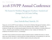 2016 SWPP Annual Conference