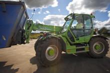 Merlo i återvinningsbranschen Nytänk ger räckvidd och bränsleekonomi