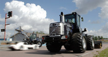 Swecon auktionerar ut två specialutrustade Volvo L70F Monster Loaders