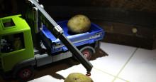 Pari ylimääräistä perunaa - varmuuden vuoksi