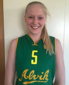 Helene Haegerstrand klar för Alvik Baskets damlag