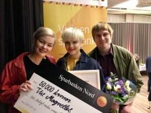 The Magnettes får Sparbanken Nords kulturpris
