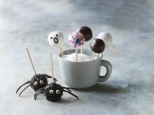 Halloween og de uhyggelige kage-slikkepinde