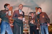 Bierbrauerei unter dem Neuen Rathaus: Einweihung der Ratskeller Braumanufaktur