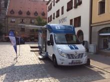 Beratungsmobil der Unabhängigen Patientenberatung kommt am 10. Oktober nach Ansbach.
