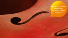 Höstens konsterter från Musik- och operahögskolan vid Mälardalens högskola