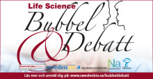 Pressinbjudan: Välkommen till Life Science Bubbel & Debatt 4 mars Stockholm