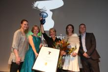 Cape Farewell vinnare av Utstickarpriset 2017