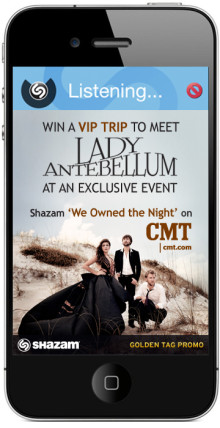 Shazam's Golden Tag Promo Gives Lady Antebellum Fans a Chance to Meet the Band and See Them Perform at an Exclusive Show