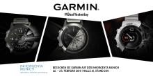INHORGENTA MUNICH 2019: Garmin feiert Messe-Premiere