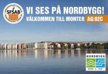 10-13 april Nordbygg. Lär dig mer om Relining av ventilationskanaler!
