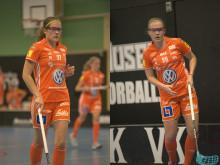 Systrarna Kauppi förlänger med IKSU innebandy